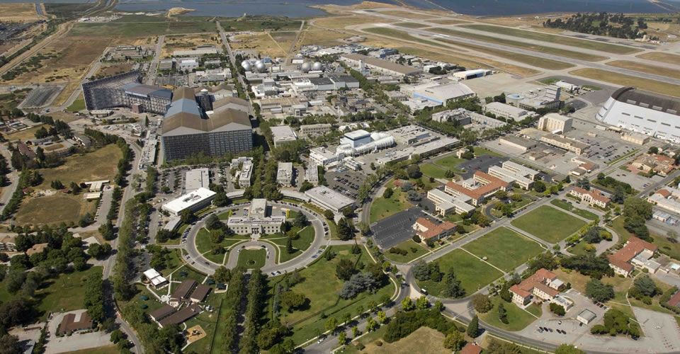 aerial view of nasa ames research center - photo #2