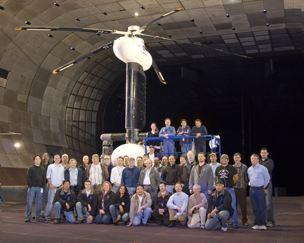 SMART Rotor test team group picture
