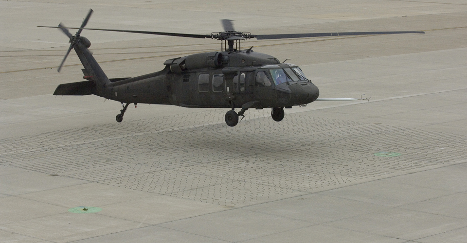 UH-60 Brownout Test, 2006