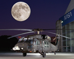Thumbnail image of UH-60 Blackhawk at night