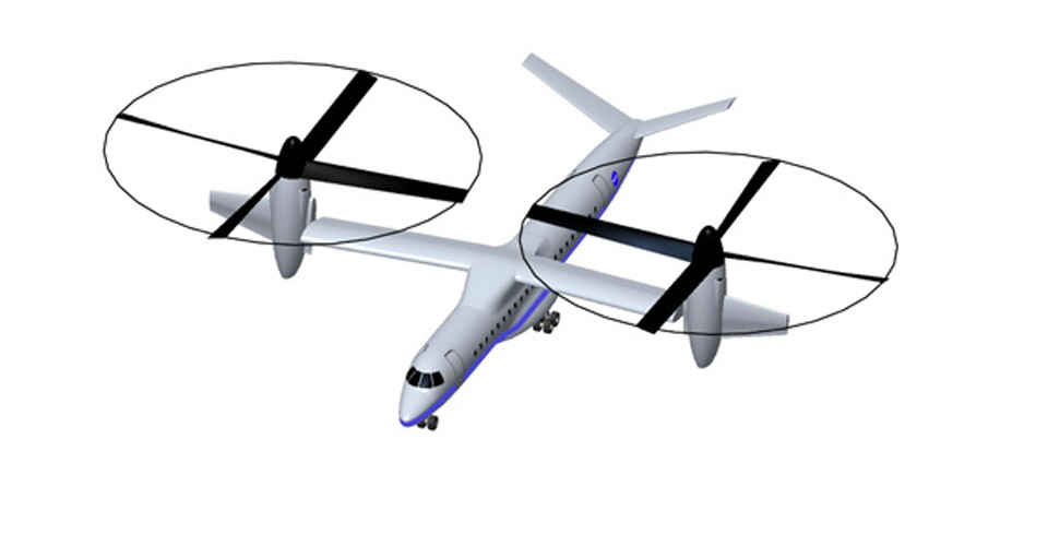 Large Civil Tilt Rotor Concept, 2009